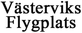 Västerviks Flygplats logo