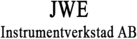 JWE Instrumentverkstad AB logo