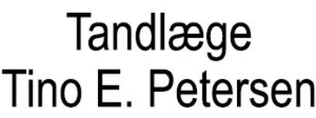 Tandlæge Tino E. Petersen logo