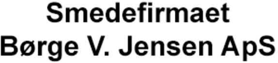 Smedefirmaet Børge V. Jensen ApS logo