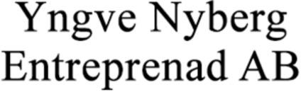 Yngve Nyberg Entreprenad AB logo