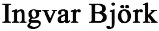 Pianostämmare Ingvar Björk logo