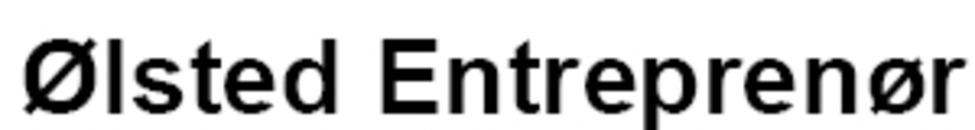 Ølsted Entreprenør logo