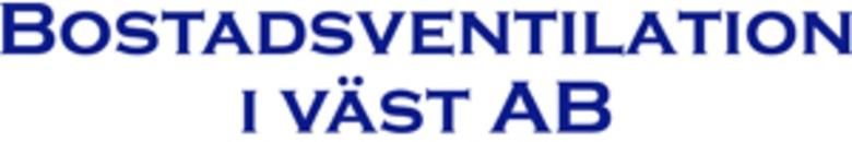 Bostadsventilation I Väst AB logo