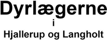 Dyrlægerne i Hjallerup og Langholt logo