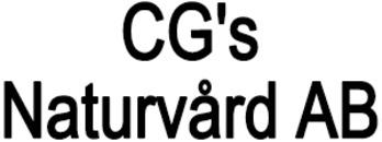 CG's Naturvård AB logo