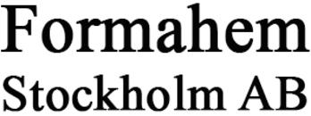 Formahem i Stockholm AB logo