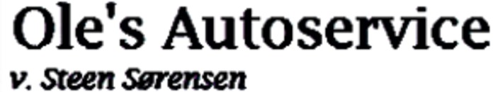 Ole's Autoservice logo
