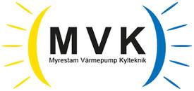 Myrestam Värmepump Kylteknik/MVK logo