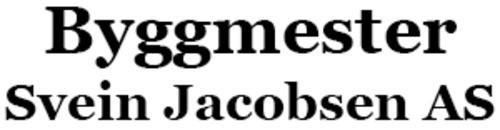 Byggmester Svein Jacobsen AS logo