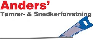 Anders' Tømrer- og Snedkerforretning logo