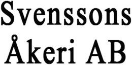 Svenssons Åkeri AB logo