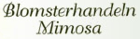 Mimosa Blomsterhandel logo