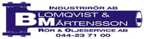 Blomqvist & Mårtensson's Rör & Oljeservice AB logo