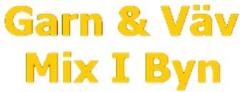 Garn O Väv Mix I Byn logo