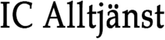 IC Alltjänst logo