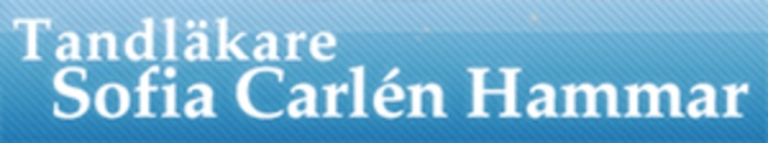 Tandläkare Sofia Carlén logo