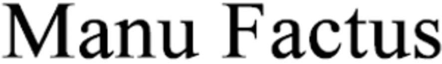 Manu Factus logo