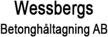 Wessbergs Betonghåltagning, AB logo