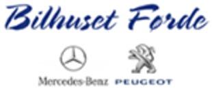 Bilhuset Førde-Mercedes og Peugeot logo