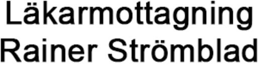 Läkarmottagning Rainer Strömblad HB logo