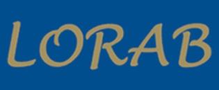 L O R A B Redovisning AB logo