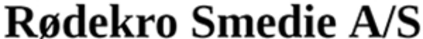Rødekro Smedie A/S logo