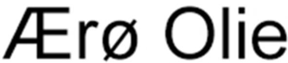 Ærø Olie logo