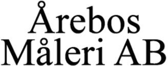 Årebos Måleri AB logo