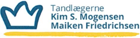 Tandlæge Kim S Mogensen logo