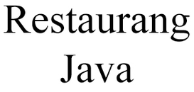 Restaurang Java logo