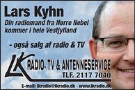 L.K. Radio-TV og Antenneservice logo