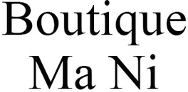 Boutique Ma Ni logo