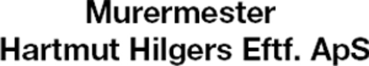 Murermester Hartmut Hilgers Eftf. ApS logo