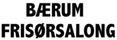 Bærum Frisørsalong logo