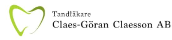 Tandläkare Claes-Göran Claesson logo