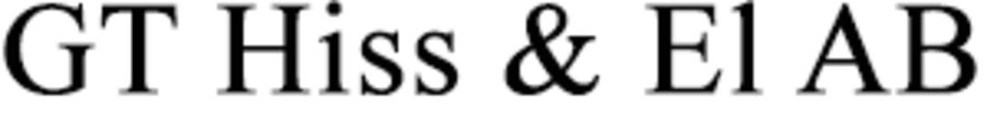 GT Hiss & El AB logo
