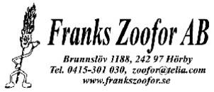 Franks Zoofor AB logo