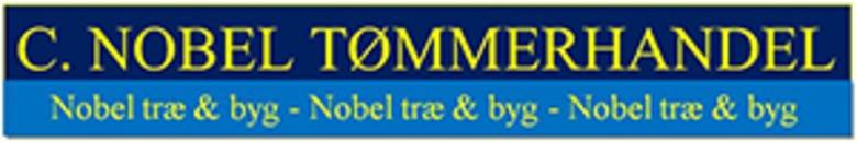C. Nobel Tømmerhandel Hundested P/S logo