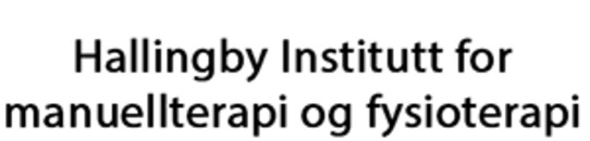 Hallingby Institutt for manuellterapi og fysioterapi logo