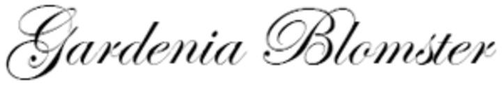 Gardenia Blomster logo