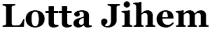 Lotta Jihem logo