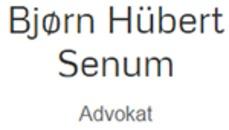 Bjørn Hübert Senum logo