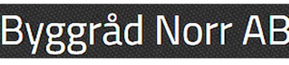 Byggråd Norr, AB logo