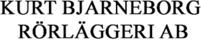 Kurt Bjarneborg Rörläggeri AB logo