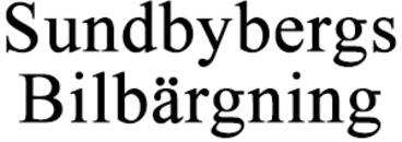 Sundbybergs Bilbärgning logo
