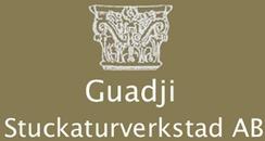 Guadji Stuckatörverkstad AB logo
