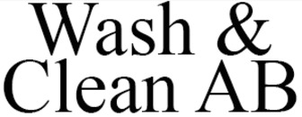 Wash & Clean AB logo