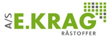 E. Krag Råstoffer A/S logo