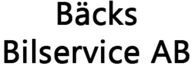 Bäcks Bilservice AB logo